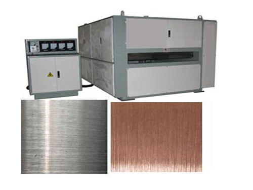 铝板拉丝机器